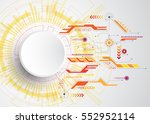 vector abstract background... | Shutterstock .eps vector #552952114