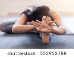 close up of the hands of a...   Shutterstock . vector #552953788