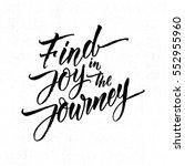 modern calligraphy... | Shutterstock .eps vector #552955960