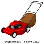 Vector Illustration Of A Red...