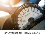 Close Up Speedometer Of...