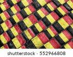 urban grunge style belgium... | Shutterstock . vector #552966808