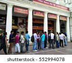 delhi  india   26th nov 2016 ... | Shutterstock . vector #552994078