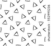 seamless triangle pattern.... | Shutterstock .eps vector #552995236