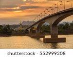 third thai   lao friendship... | Shutterstock . vector #552999208