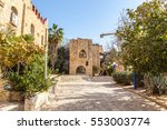 ancient stone streets in arabic ...   Shutterstock . vector #553003774