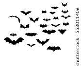 vector  isolated  silhouette of ...   Shutterstock .eps vector #553011406