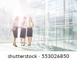 business women in office  | Shutterstock . vector #553026850