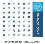 finance icon set vector | Shutterstock .eps vector #553026964