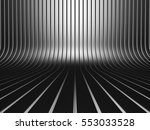 dark metallic stripe pattern... | Shutterstock . vector #553033528