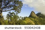 view of doi nork at doi luang... | Shutterstock . vector #553042438