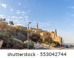 view of the ancient arab city...   Shutterstock . vector #553042744