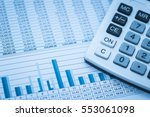 accounting financial banking... | Shutterstock . vector #553061098