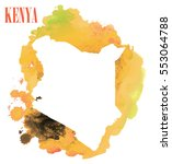 kenya. high detailed vector map.... | Shutterstock .eps vector #553064788