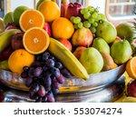 fruit basket | Shutterstock . vector #553074274