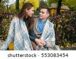 love and affection between a... | Shutterstock . vector #553083454