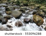 pure water creek in minca ... | Shutterstock . vector #553096288