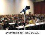 at seminar | Shutterstock . vector #55310137