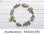 Wreath With Natural Decoration...