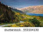 Beautiful Lake Landscape In...