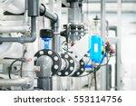 large industrial water... | Shutterstock . vector #553114756
