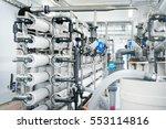 large industrial water... | Shutterstock . vector #553114816
