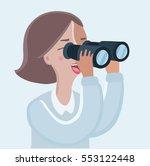 vector cartoon funny... | Shutterstock .eps vector #553122448
