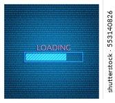loading bar icon   Shutterstock .eps vector #553140826