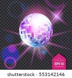 vector illustration of violet...