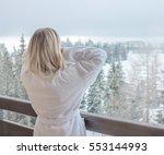 Woman Relaxing On Beautiful...