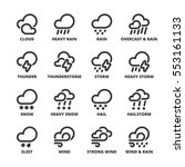 set of black flat symbols about ... | Shutterstock .eps vector #553161133