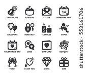 set of black flat symbols about ... | Shutterstock .eps vector #553161706