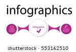 modern vector template... | Shutterstock .eps vector #553162510
