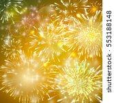 Illustration Of Fireworks....
