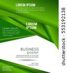 brochure design content... | Shutterstock .eps vector #553192138
