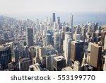 Chicago Skyline And Lake...