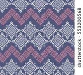 handdrawn ethnic ornamental...   Shutterstock .eps vector #553200568