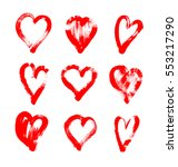 brush stroke sketch drawing of... | Shutterstock .eps vector #553217290