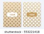 modern vector template for... | Shutterstock .eps vector #553221418