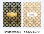 modern vector template for... | Shutterstock .eps vector #553221670