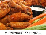 Spicy Chicken Wings With Ranch...