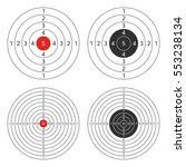 set targets for practical... | Shutterstock .eps vector #553238134