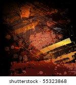 grunge background for text | Shutterstock .eps vector #55323868
