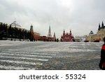 winter snapshot of the building ... | Shutterstock . vector #55324
