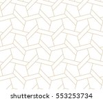 seamless linear pattern with... | Shutterstock .eps vector #553253734