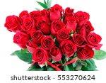 red rose background   Shutterstock . vector #553270624