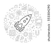 vector line design web concept...   Shutterstock .eps vector #553304290