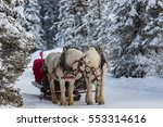 Winter Sleigh Ride In The...