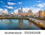 Downtown Skyline Austin Texas Usa - Fine Art prints
