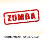 illustration of zumba text... | Shutterstock .eps vector #553372660